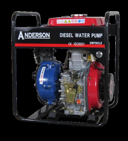 "1½"" Anderson Diesel 382 Fireboss® Twin Impeller Pump Electric start"