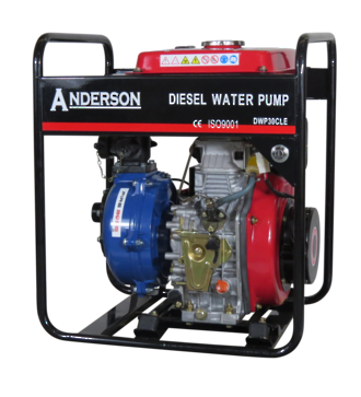 "1½"" Anderson Diesel 382 Fireboss® Twin Impeller Pump Electric start"