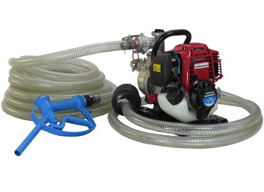 "1"" Honda WX10 Pump + Calf Milk Hose Kit"