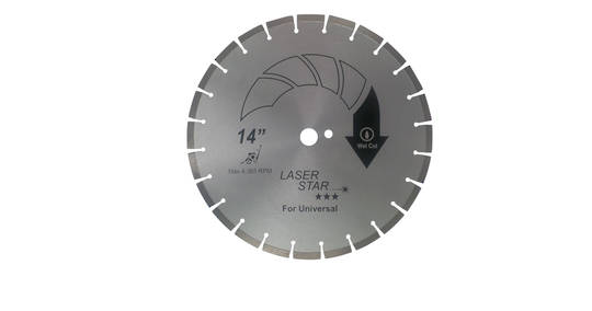 "18"" Laser Star Diamond Blade"