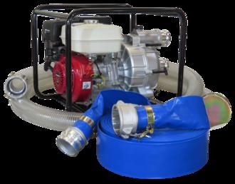 """3"""" Honda Powered Trash Pump + Hose Kit"""