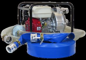 """2"""" Honda Powered Trash Pump + Hose Kit"""