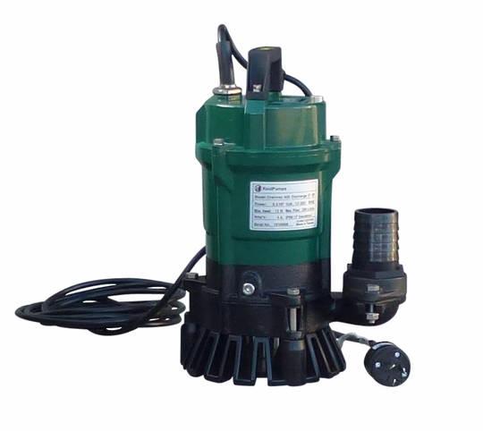 "3"" Reid Drainvac 750-3 Semi-Vortex Drainage Submersible Pump - Float Switch Included"