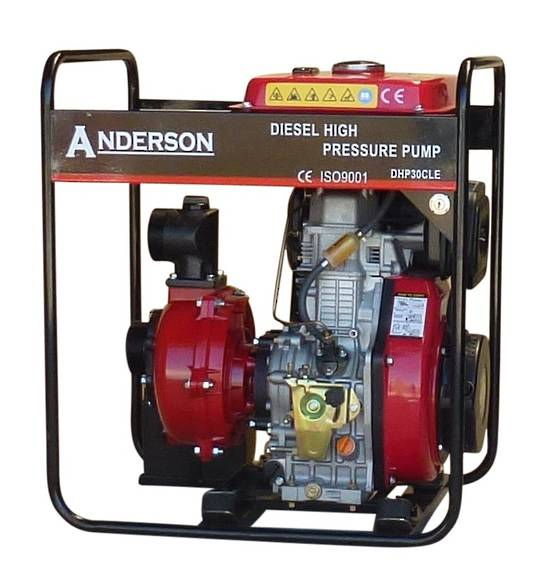 "3"" Anderson Diesel 801 Fireboss® High Pressure Water Pump Electric start"