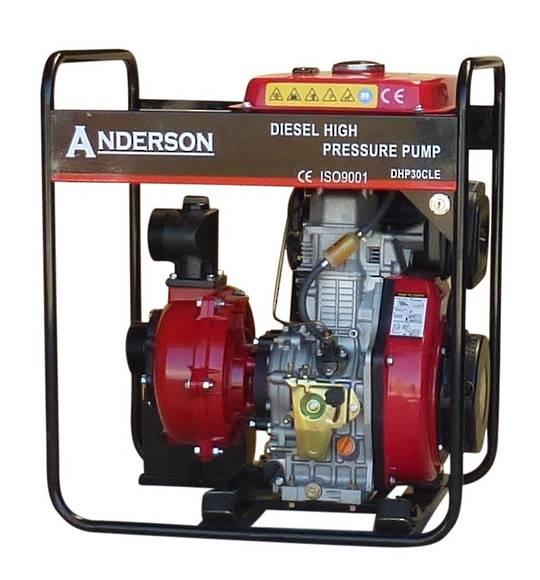 "3"" Anderson Diesel 801 Fireboss® High Pressure Water Pump Electric start"