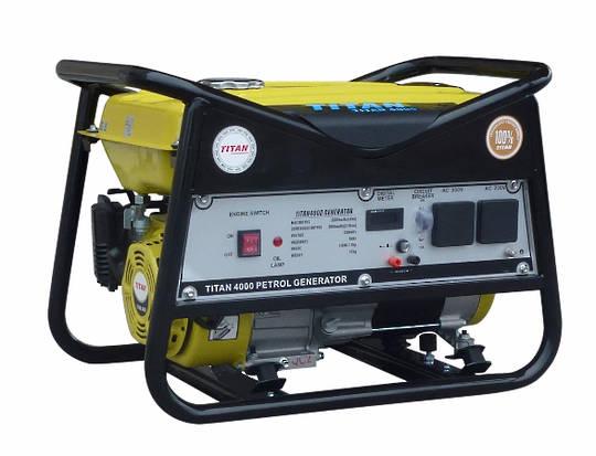 Titan 4000 3.3kW Petrol Generator