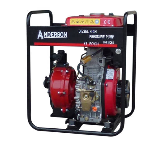 "2"" Anderson Diesel 381 Fireboss® High Pressure Water Pump Electric start"