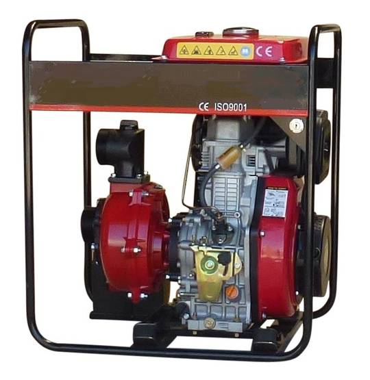 Yanmar Diesel 801 Fireboss® High Pressure Water Pump Electric start
