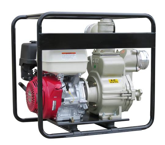 "4"" Honda Powered Trash Pump HD El. St"