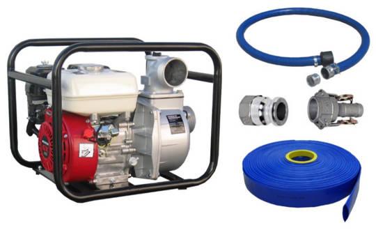 """3"""" Honda Powered Pump + Hose Kit"""