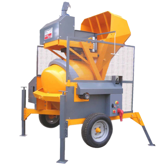 Altrad Belle RB500B Skip Feed Concrete Mixer - Three Phase Electric