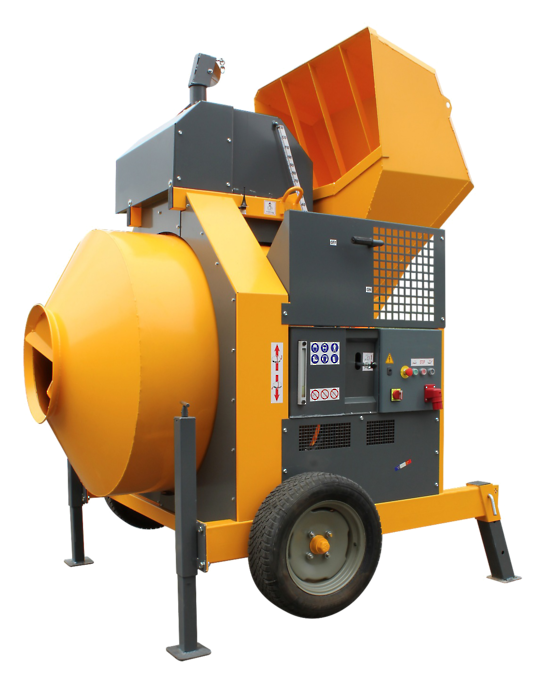 Altrad Belle RB800B Skip Feed Concrete Mixer - Three Phase Electric