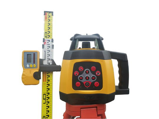 Rotating Laser Level RL250S Slope Function Incl Staff & Tripod