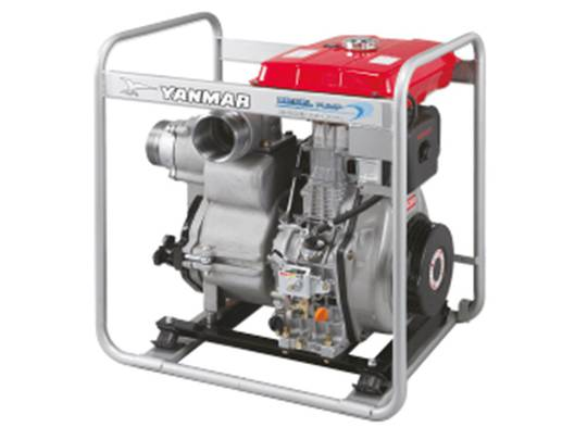 "Yanmar 4"" Trash Pump Electric Start"