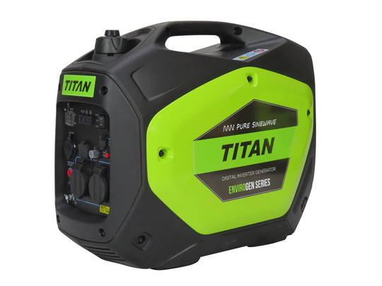 Titan Envirogen 2600IE Inverter Generator Electric Start