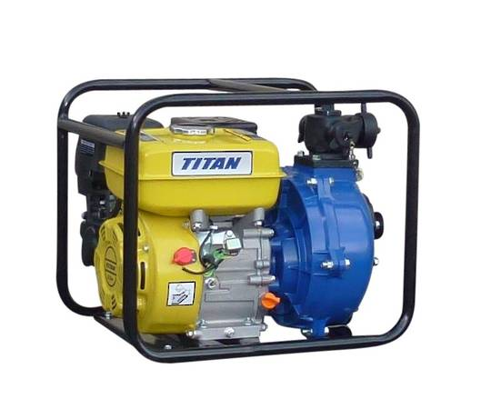 "2"" Titan Fireboss® 502 Twin Impeller Water pump 9HP"