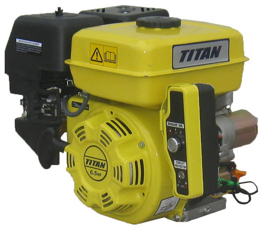 Titan 6.5HP Engine Electric Start