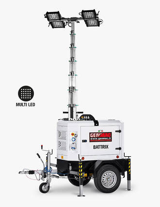 Genmac Battrix LED Light Tower TI9B
