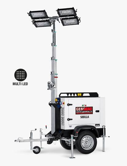 Genmac Sibilla Light Tower TM8K-M5
