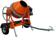 Altrad Belle AT350 Road Towable Concrete Mixer - MADE IN EUROPE