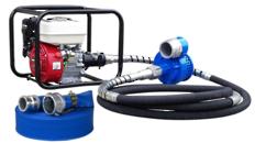 """Honda Powered 3"""" Flexi-Drive Pump 6m Drive Shaft + Hose Kit"""
