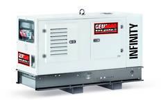 Genmac Yanmar Powered G20YS-E Generator 20kVA Silenced 400v