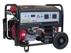 Genpac 7800E 6.5kW Honda Powered Generator