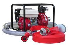 "1½"" Fire Fighter Honda Powered Pump + Hose Kit 30m"