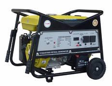 Titan 6700E 5.5kW Petrol Generator