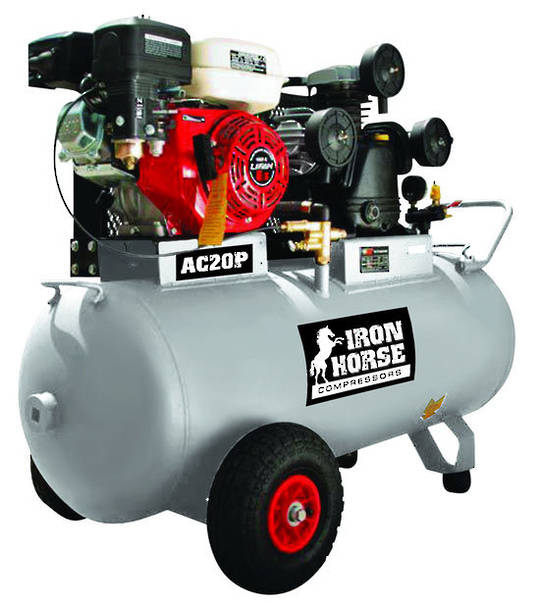 Iron Horse AC21P Air Compressor