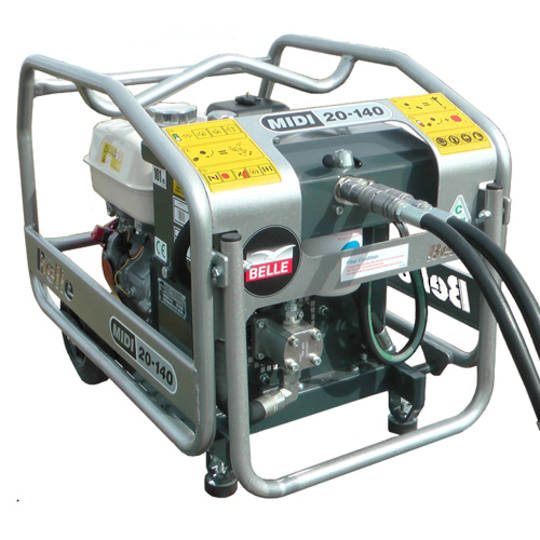 Altrad Belle Major 30-140X Honda Powered Hydraulic Power Pack