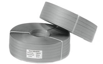 Poly Strapping RLB 19x1000m Heavy Duty Silver Hand