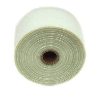 Polytubing 125Mu 350mm Natural 10kg Roll