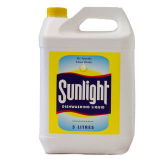 Dishwash Liquid Sunlight 5 Litres