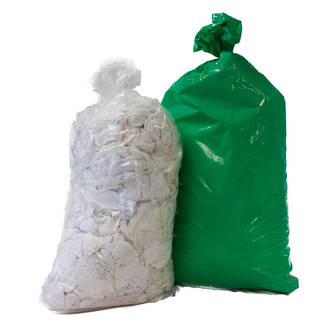 Rags White Cotton 20kg bag