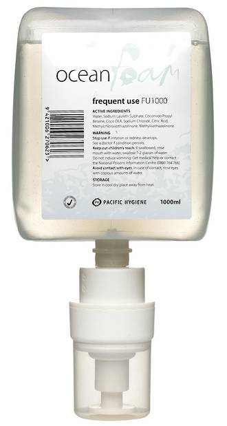 Soap Ocean Foam Frequent Use 6x1000ml Cartridge