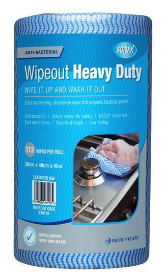 Wipes Heavy Duty 30x40cm Sorb-X