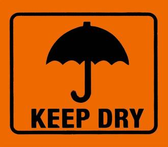 'Keep Dry' LOR 96x83mm Roll of 660