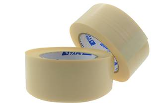 Strapping Tape Bear 598 48x50m White Ctn of 18