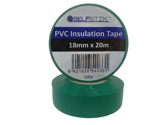 Insulation Tape  RLB 18x20m Green Ctn of 24