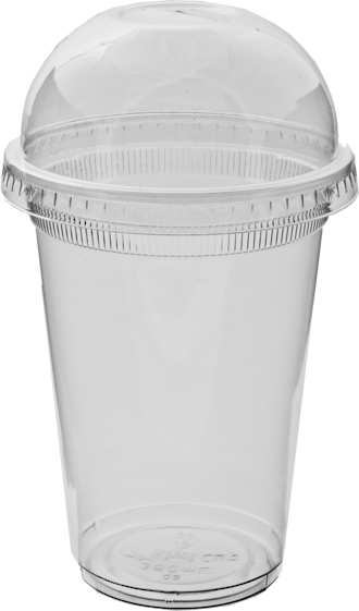 Clear Smoothie Cup 420mm Ctn of 1000