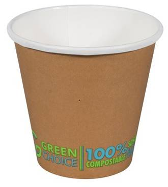 Cups Green Choice Single Wall Cup PLA - 8oz