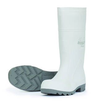 White Mohawk Gumboots Sizes 4-13
