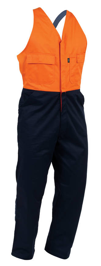 EDDCO Safety Overall Navy/Orange Sizes 4-16