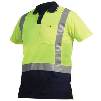 PNBPO Polo Safety Shirt Day Night S-5XL
