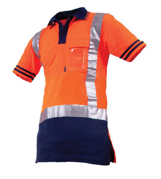 V51DN Polo Safety Shirt Quikdry S-8XL