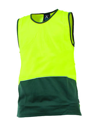 V52DOSING Hi Vis Safety Singlet Day Only M-8XL