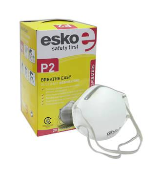 Esko Dust Mask PC305e P2 Non-Valved Box of 20