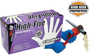 Glove Disposable High Risk Latex