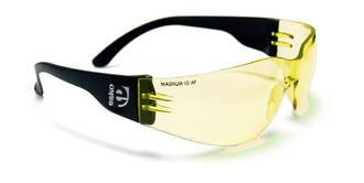 Magnum Amber Lens Safety Specs Anti-fog/UV